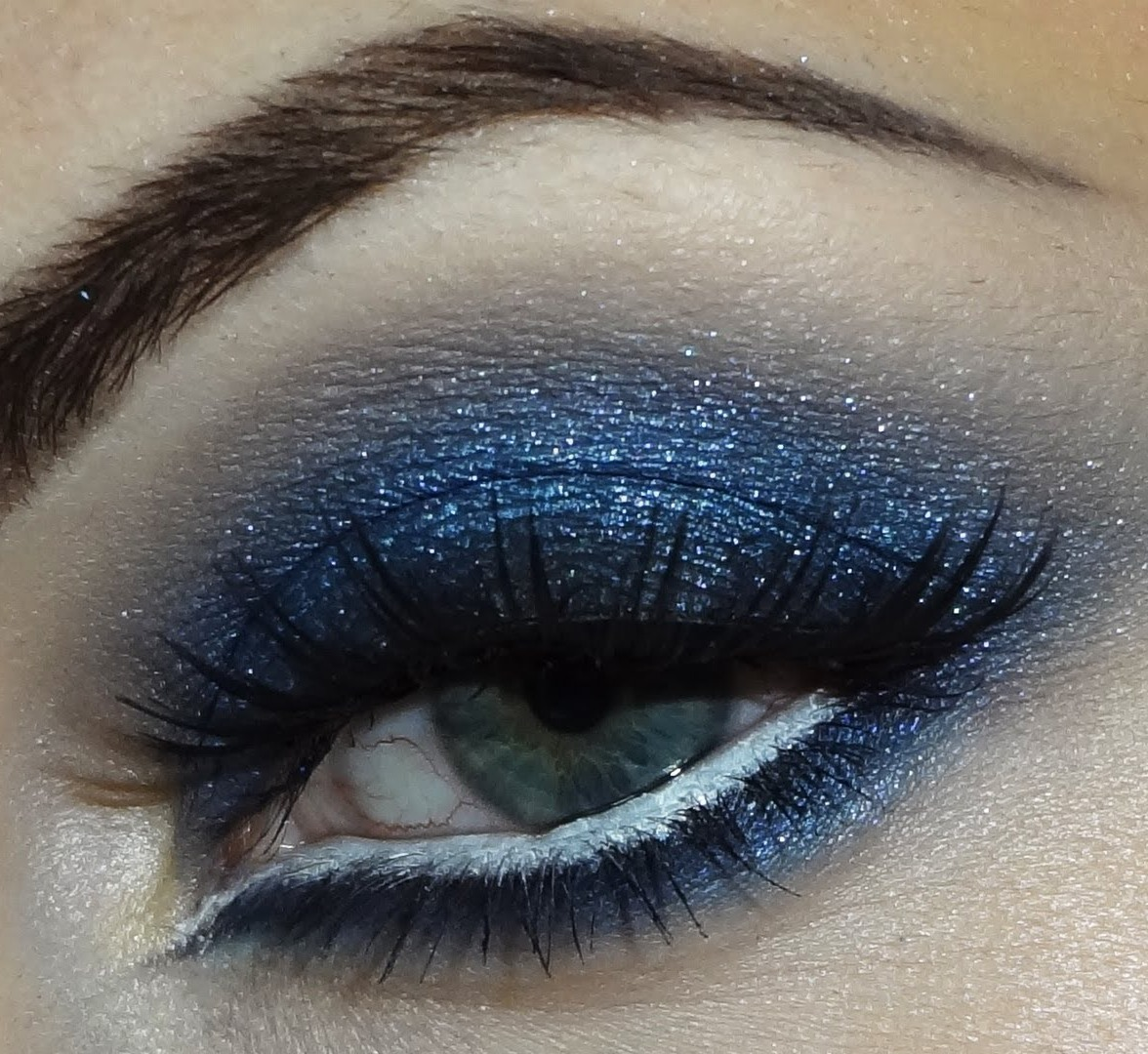 Blue Eyeshadow ....WOW